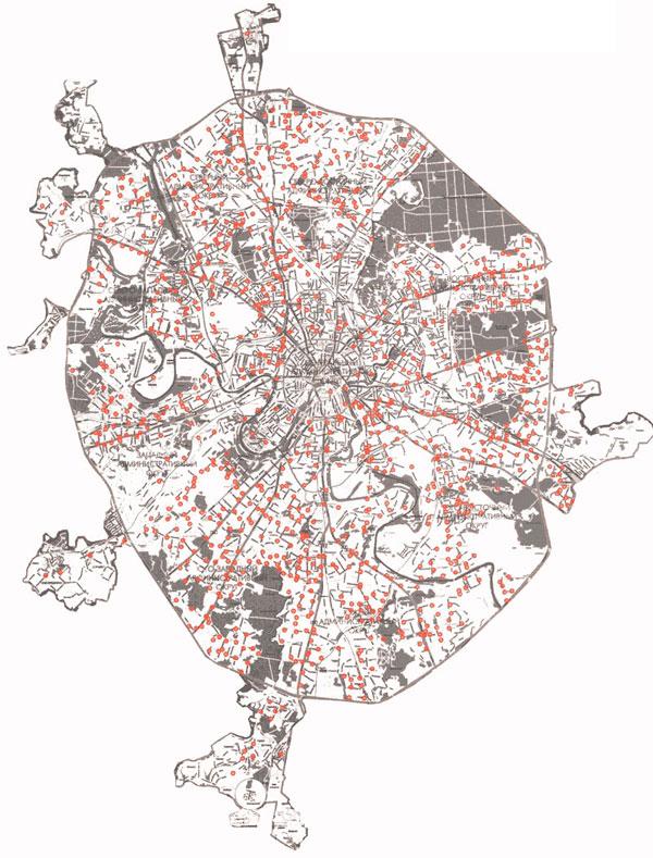 Москва - один из крупнейших